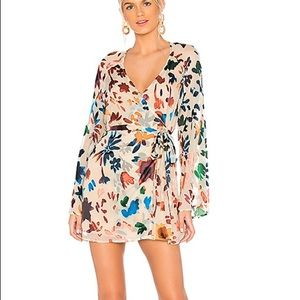 Tularosa robin Dress in ombre floral